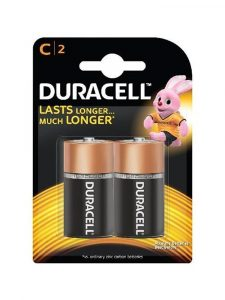 Duracell c batteries pack of two pulse and cocktails