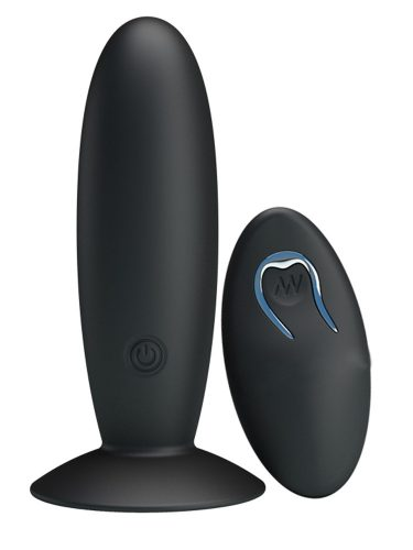 Rechargeable-Vibrating-Butt-Plug-(with-Wireless-Remote-Control)-1
