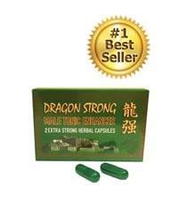 Dragon Strong herbal sex enhancer capsules 2 pack