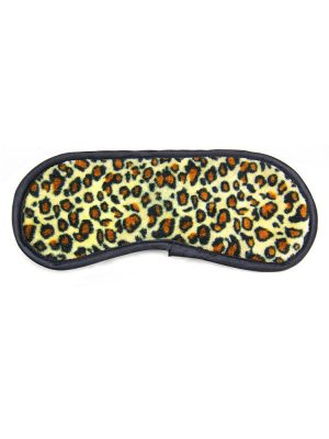 leopard print eye sleep mask