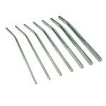 Male Urethral Dilator set 7 sounds silver metal