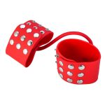 Studded-red-silicone-hand-cuffs-black--0000028474-000035310