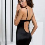 black-satin-lace-sexy-chemise-night-wear-back
