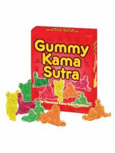 Edible gummy karma sutra sweets