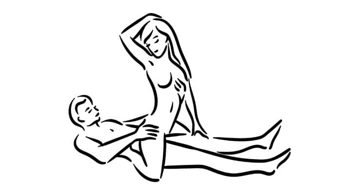 Reverse cow girl sex position - pulse and cocktails