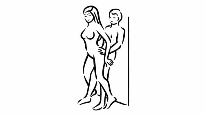 The wall banger sex position