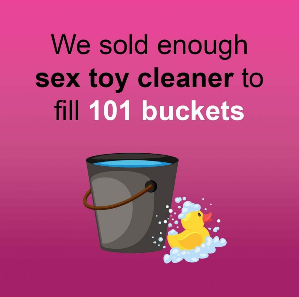 sex toy cleaner bucket and duck