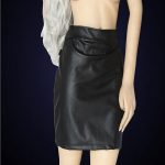 Black-Bareback-Bum-Fetish-PU-leatherette-Skirt-on-model-0000029592-000036780