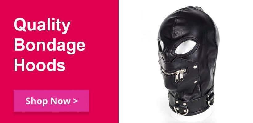 Bondage Hoods and masks for BDSM Fetish sex play