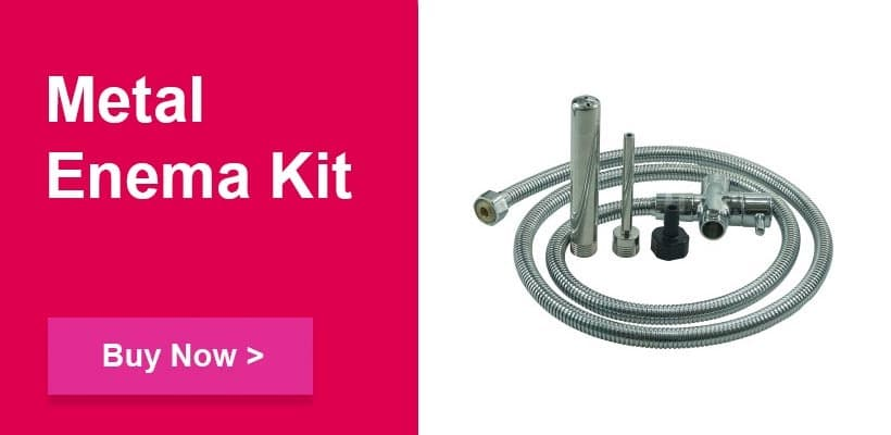 metal enema kit for bondage fetish sex play pulse and cocktails