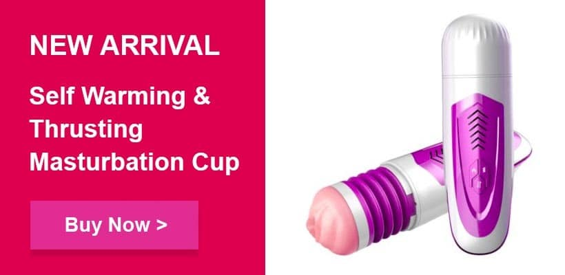 new sex toy self warming and thrusting male masturbator cup