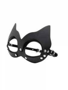 black sexy cat eye mask with ears 2 0000037547 -000030249