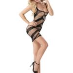 Sexy fishnet body stocking