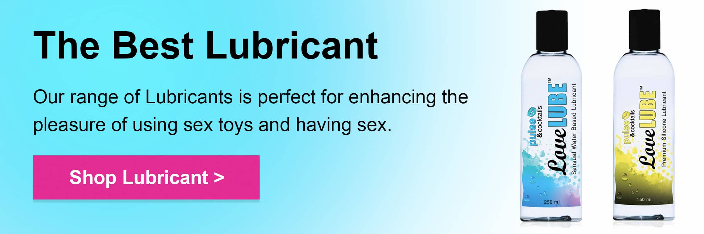 Shop lubricant for sex toys pulse and cocktails