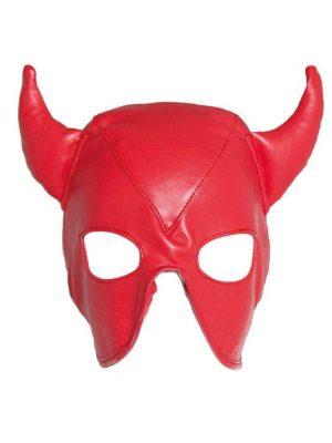 Devil-hood-faux-fur-front