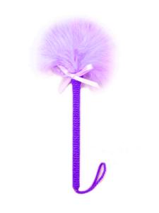 feather tickler purple