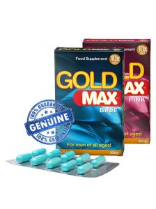Gold Max for men 10 pack male and female enhancement supplement