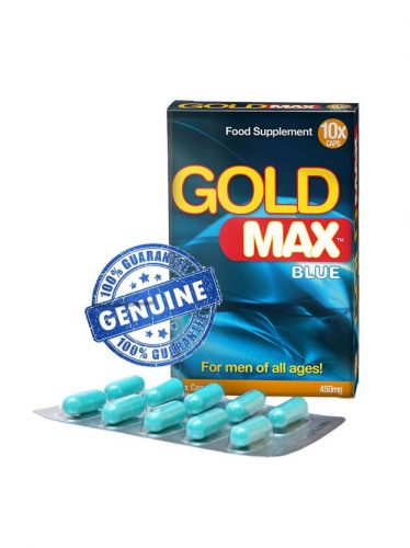 Gold Max for men 10 pack male enhancement supplement