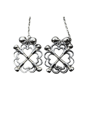 nipple clamps - nipple bolds - chain nipple - silver nipple clamps - nipple clamps with bells