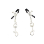 nipple clamp clips silver