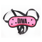 3 piece pink bondage kit with mask cuffs and whip