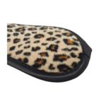 Leopard print eye mask