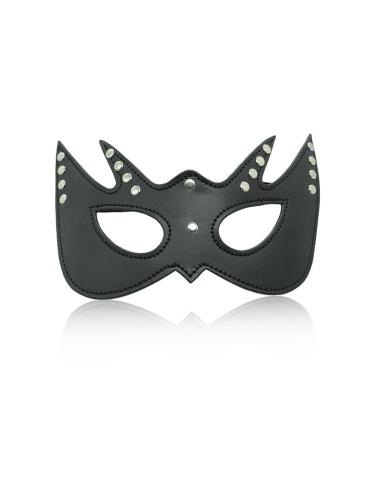 Black studded eye mask
