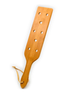bamboo paddle - eco friendly paddle - brown paddle - light paddle - wood paddle - spanking paddle - bamboo spanker