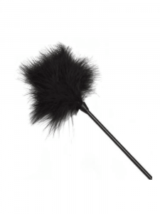 feather tickle - black tickler - feather maids outfit - fancy dress