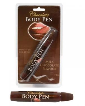 Chocolate body pen