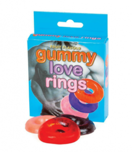 Gummy Love Rings, Fruit Flavour