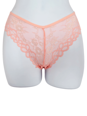Pink Nude Briefs Thongs Lingerie Sexy Pants