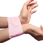 pink-bondage-tape-on-hands