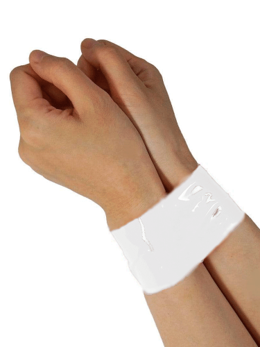 white-bondage-tape-on-hands
