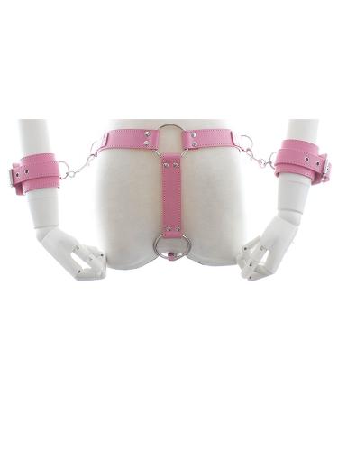 Wrist-and-harness-pink
