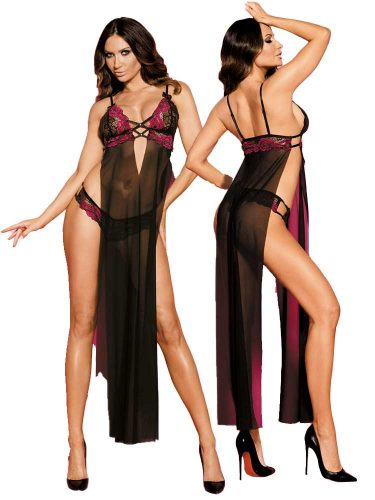 longgown-pink-and-black