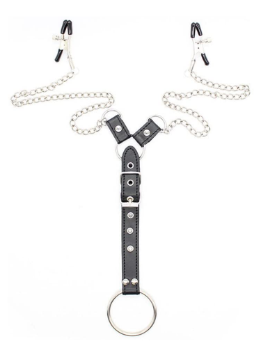 nip-clamps-with-cock-strap